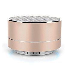 JXL Wireless Stereo P10 Mini Bluetooth Speaker USB Support (Multi Color)
