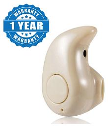 Captcha S-530 Mini Bluetooth Headset - Cream