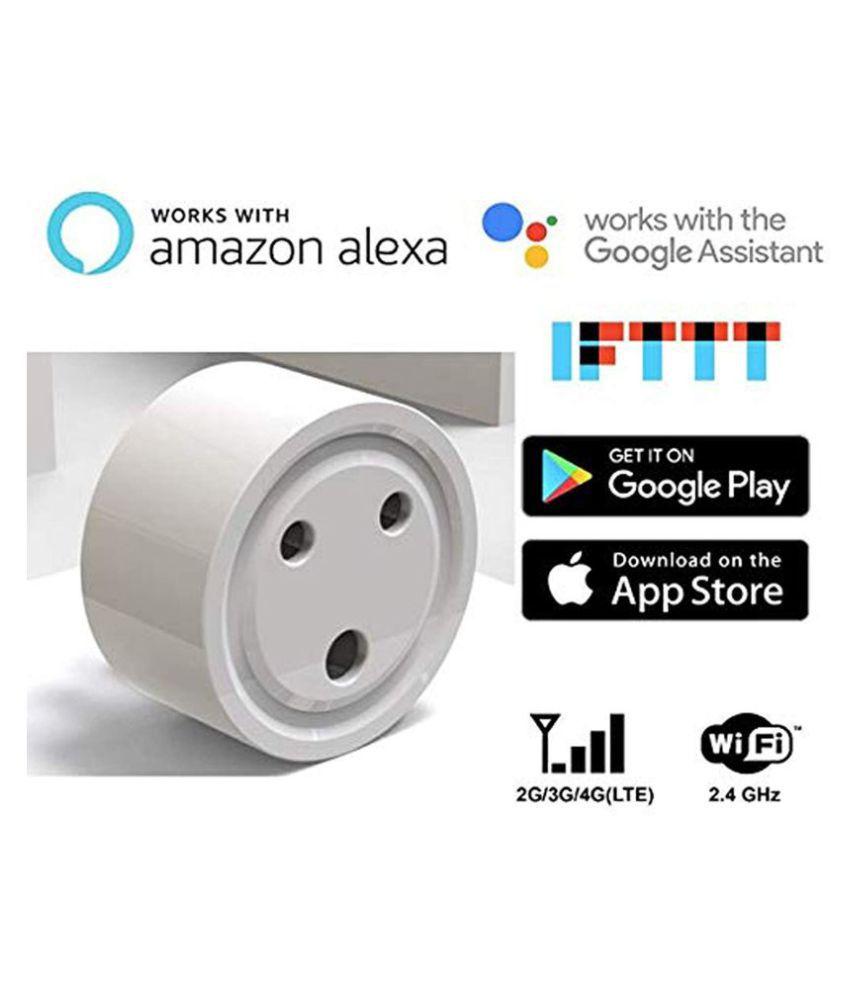 VINC Smart Plug, 2 4 GHz WiFi, Alexa, Google Home Compatible (White) Plug  Tops