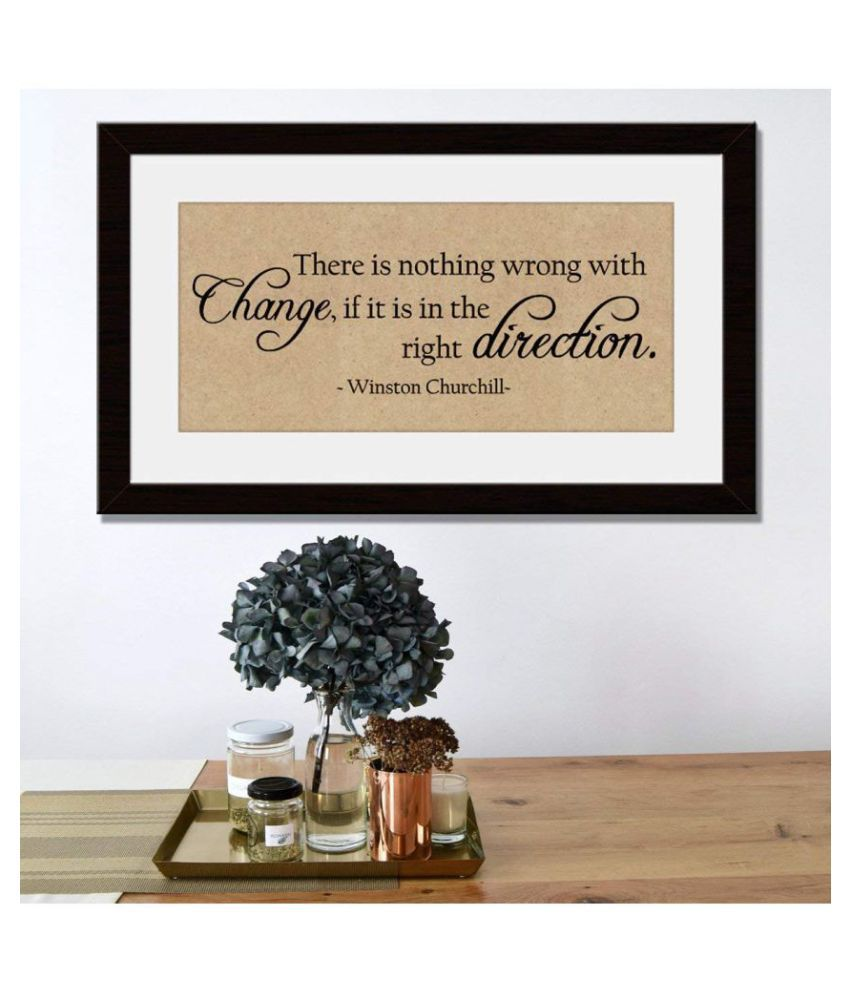 Incredible Gifts Engraved Quotes on Wood - There is nothing wrong Wood Painting With Frame