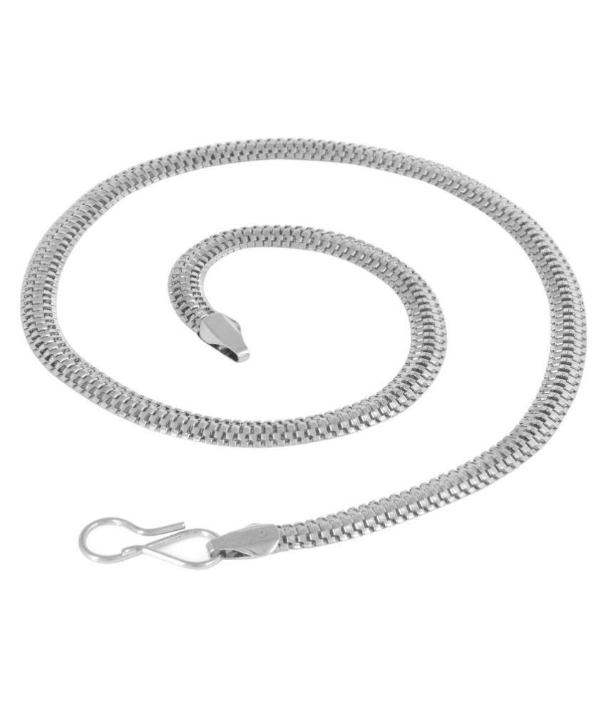 MissMister Silver Alloy Chains