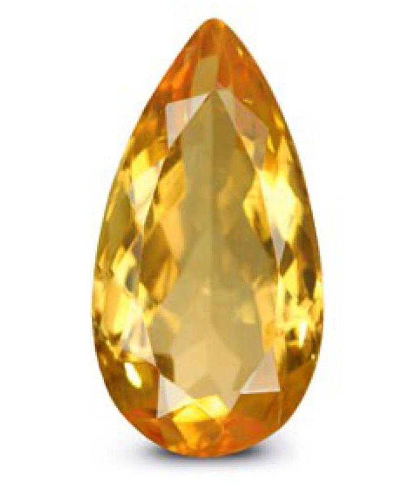 Yellow Citrine - 4.46 carats Natural Agate Gemstone