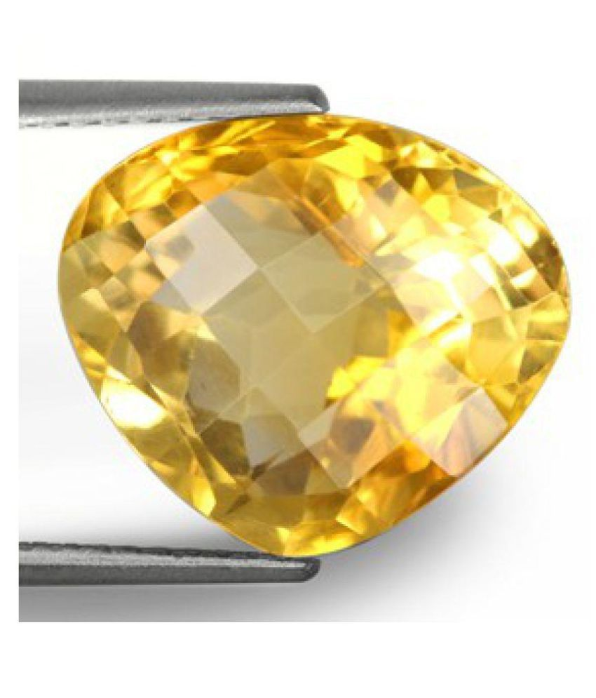 Yellow Citrine - 6.34 carats Natural Agate Gemstone