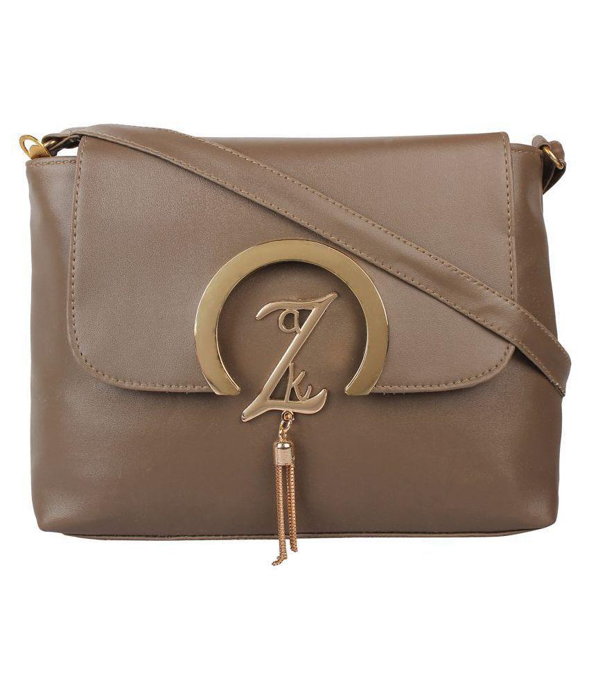 onland Beige P.U. Sling Bag