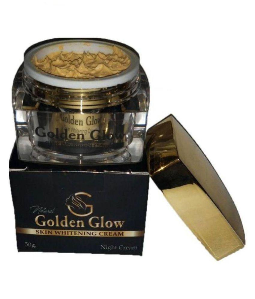 Golden Glow Skin Whitening Cream (Buy 1 & GET 1 Harmony Soap FREE) Night Cream 50 gm