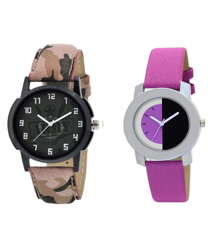 MF  Popular And Simple Analog Watches For Boys And Girls