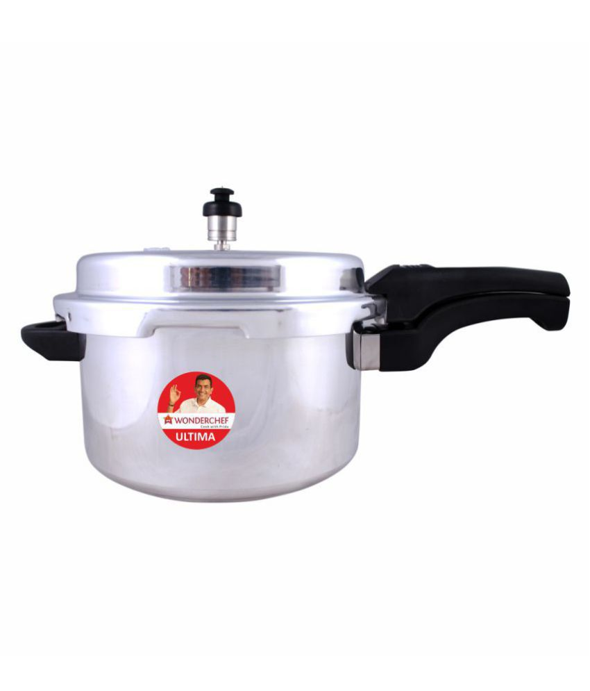 Wonderchef Ultima 7.5 L Aluminium OuterLid Pressure Cooker With Induction Base