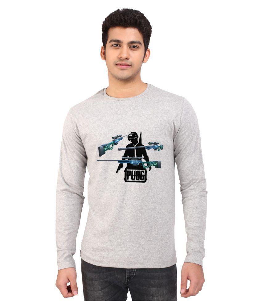 British Terminal Grey Full Sleeve T-Shirt Pack of 1
