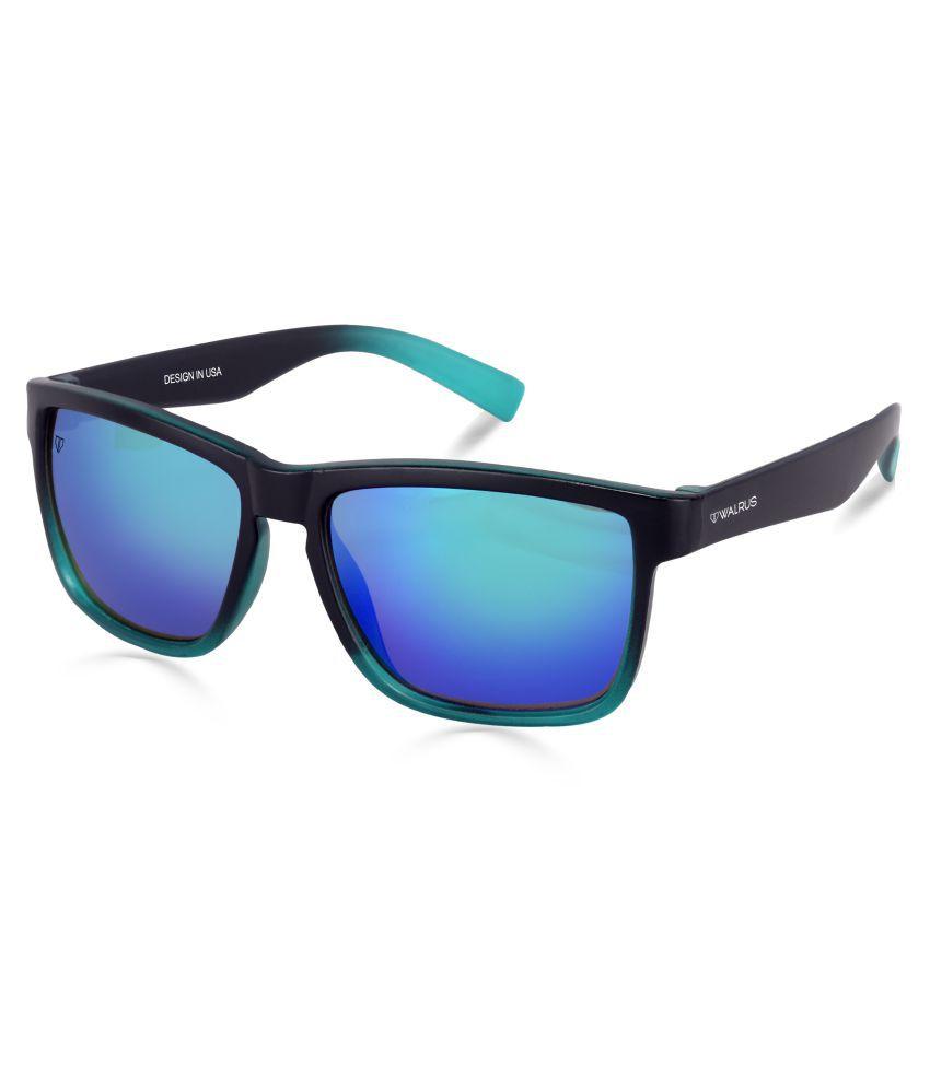 Walrus - Blue Square Sunglasses ( WS-DON-II-030402 )