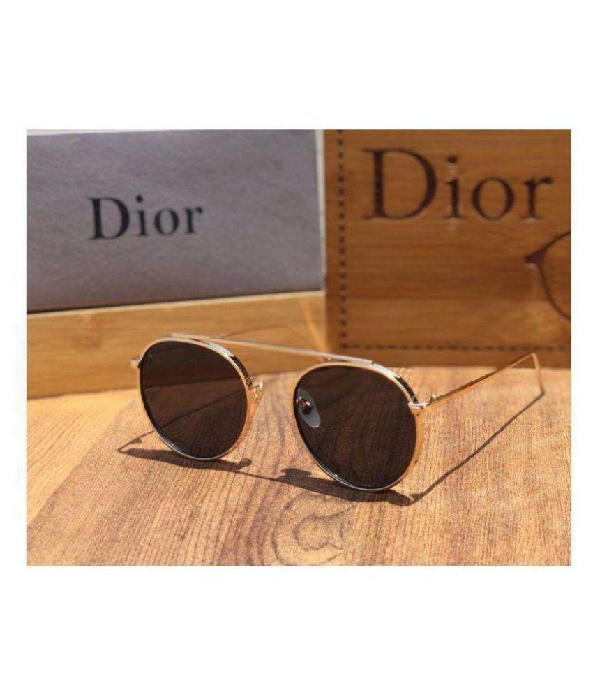 7b0e4396bd Dior Black Round Sunglasses ( D83654 ) - Buy Dior Black Round ...
