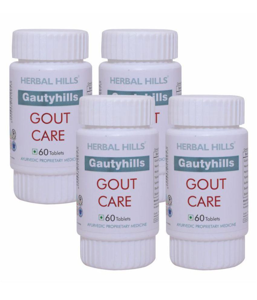 Herbal Hills Gautyhills 60 Tablets - Pack of 4 Tablets 450 mg
