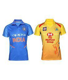 IZON csk&india jersey
