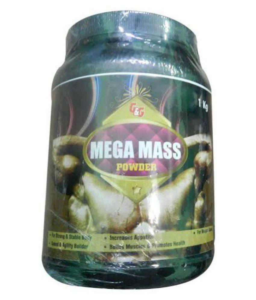 Ayurveda Cure Mega Mass 1 kg Weight Gainer Powder