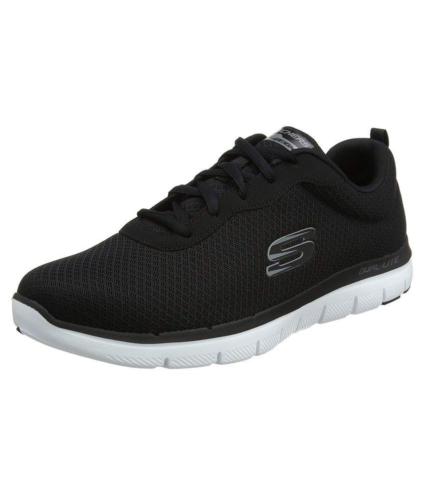 Skechers FLEX ADVANTAGE 2.0 M Black Running Shoes