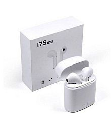 HERDEM i7s Twins with Charging Box Bluetooth Headset - White