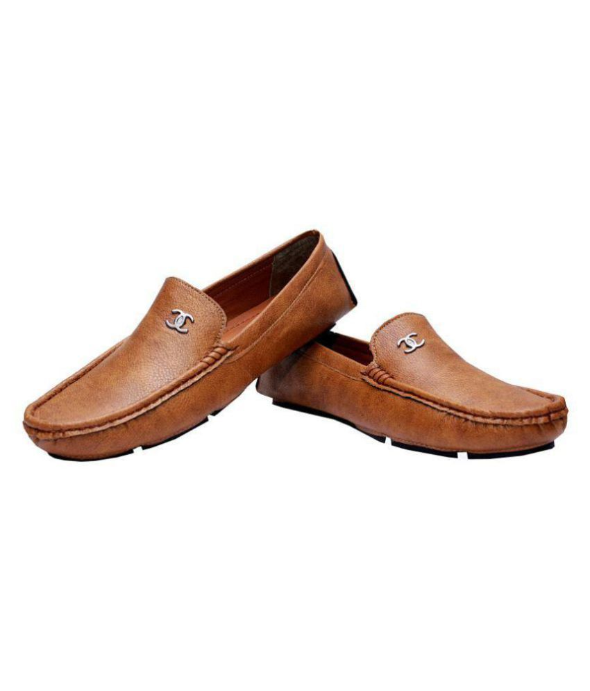 Viuuu Tan Loafers