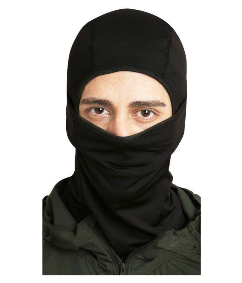 62911031c Mototrance Black Balaclava Bike Face Mask for Men & Women Bike's  Accessories, Protects Mouth- Pack of 1
