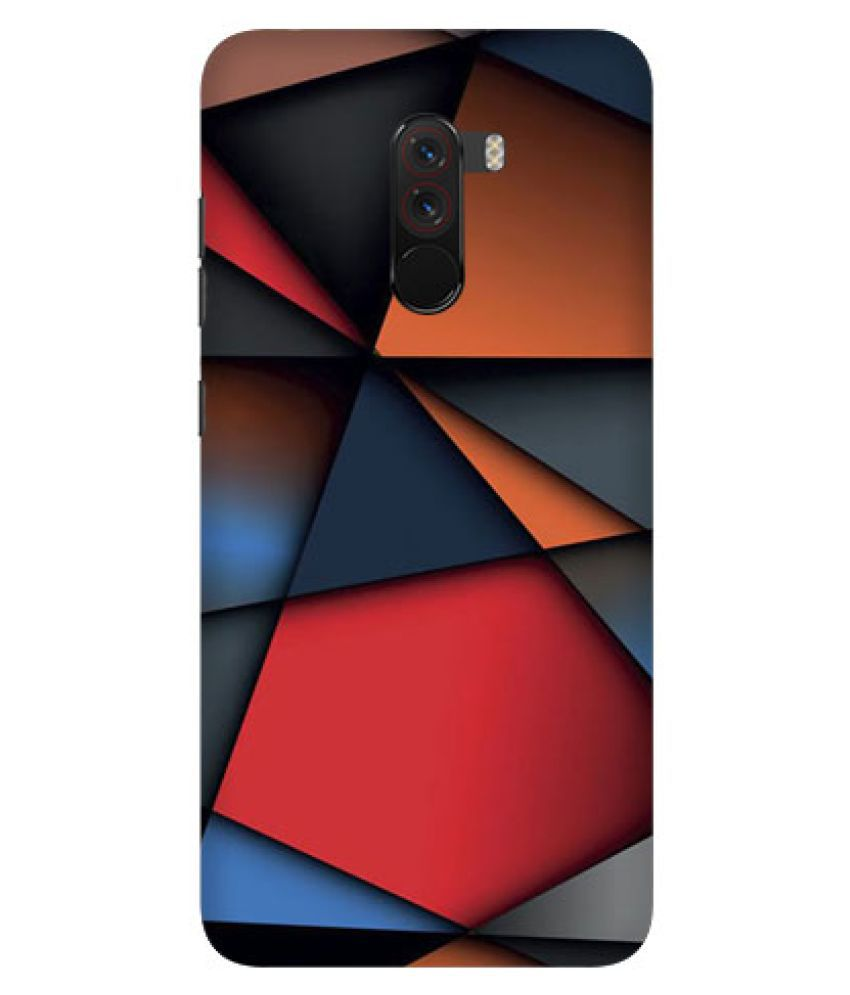 Xiaomi Redmi Poco F1 Printed Cover By Digi Swipes Classic Abstract Premium Quality Mobile Back Cover and Cases