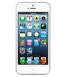 Apple iPhone 5 ( 16GB , 1 GB ) Silver White