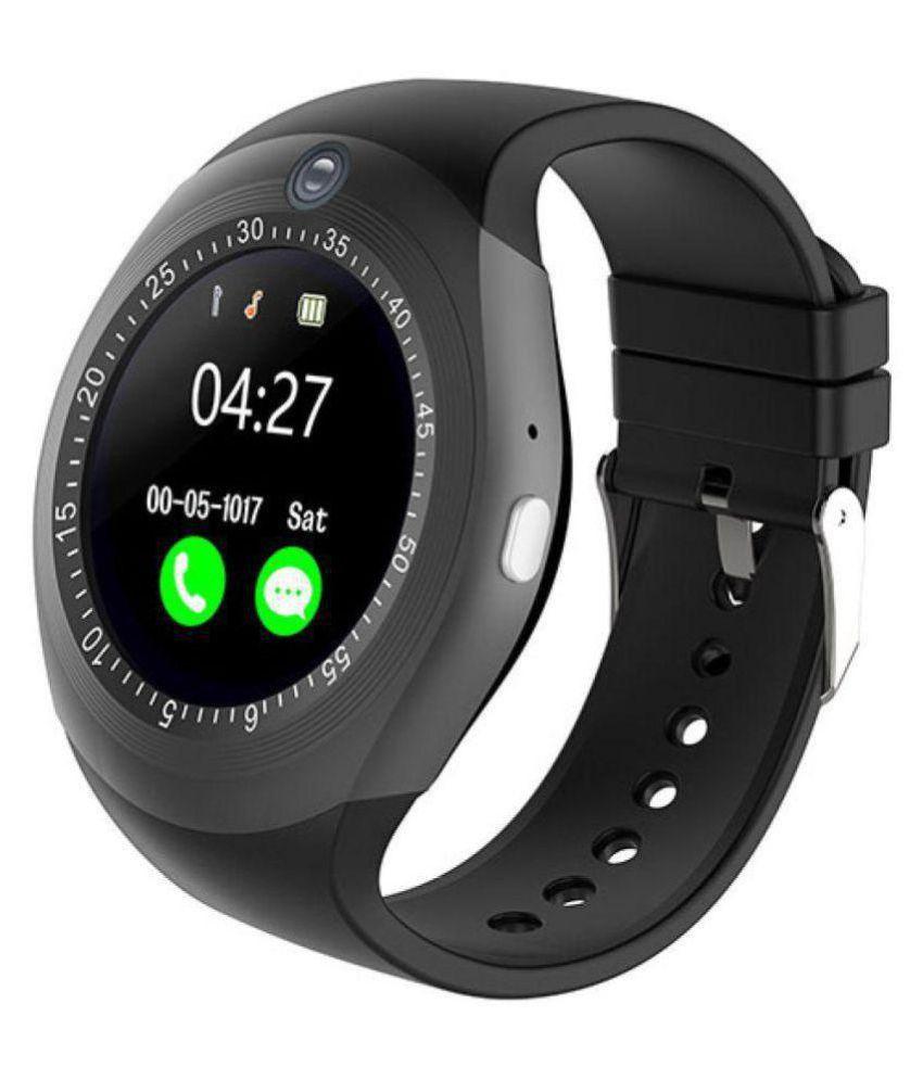 Dirar Y1 Smart Watches Black