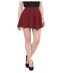 cf14538e2dde Maroon Color Womens Skirts: Buy Maroon Color Womens Skirts Online at ...