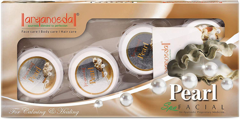 Aryanveda Pearl Spa Facial Kit 420 gm Pack of 2