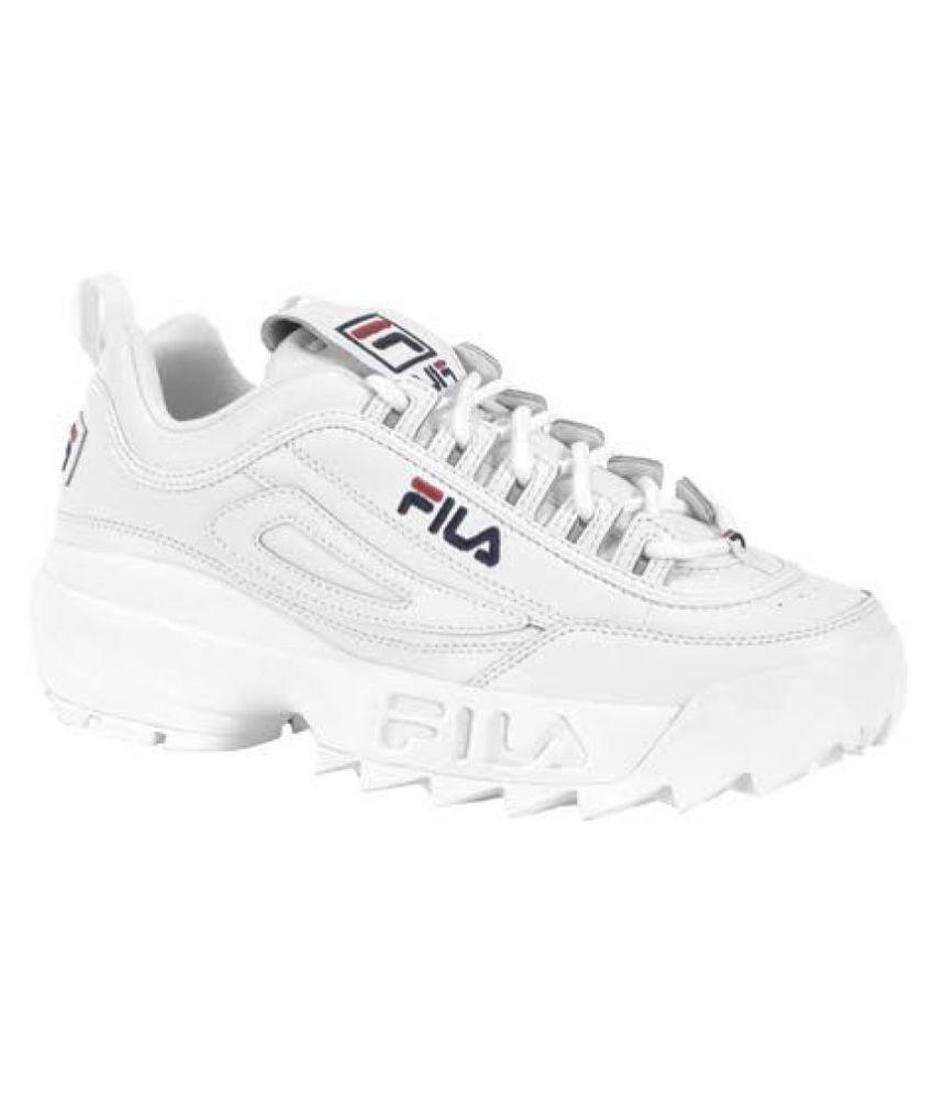 Fila FILA DISRUPTOR White Tennis Shoes
