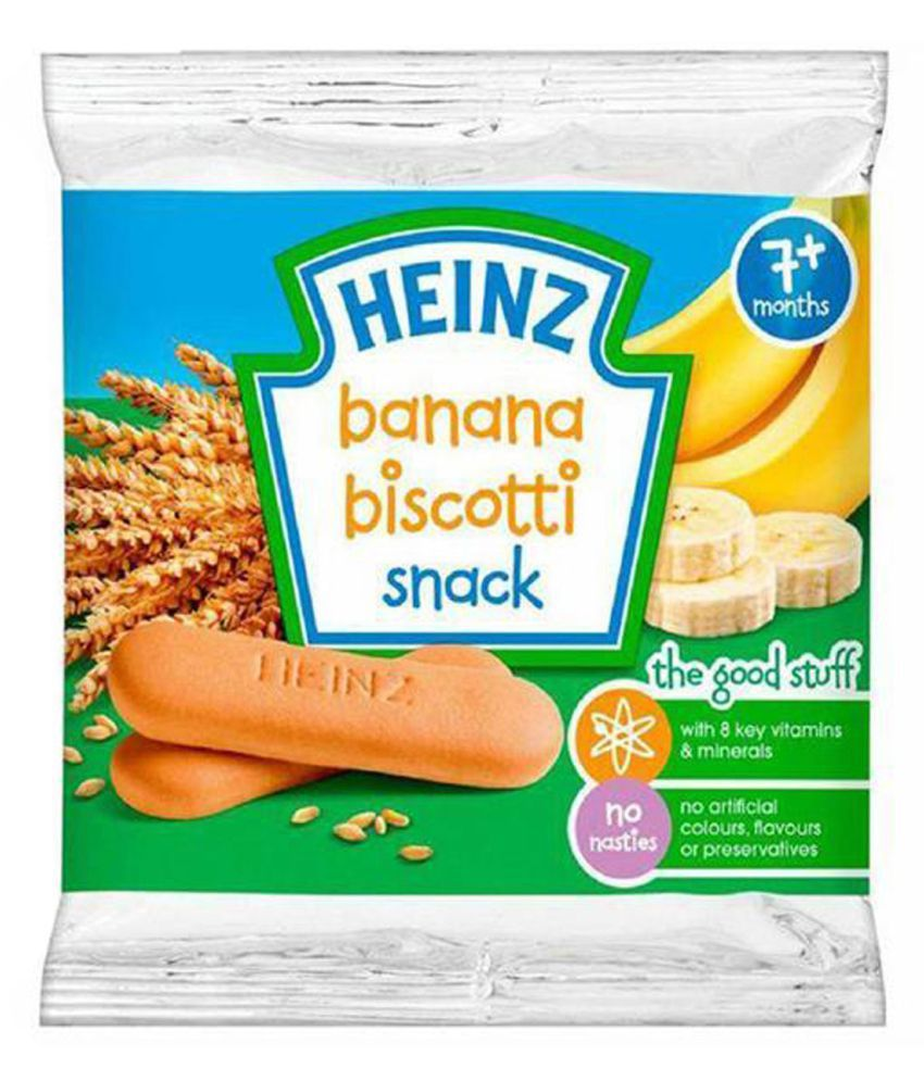 Heinz Banana Snack Foods for Under 6 Months ( 180 gm ) Pack of 3