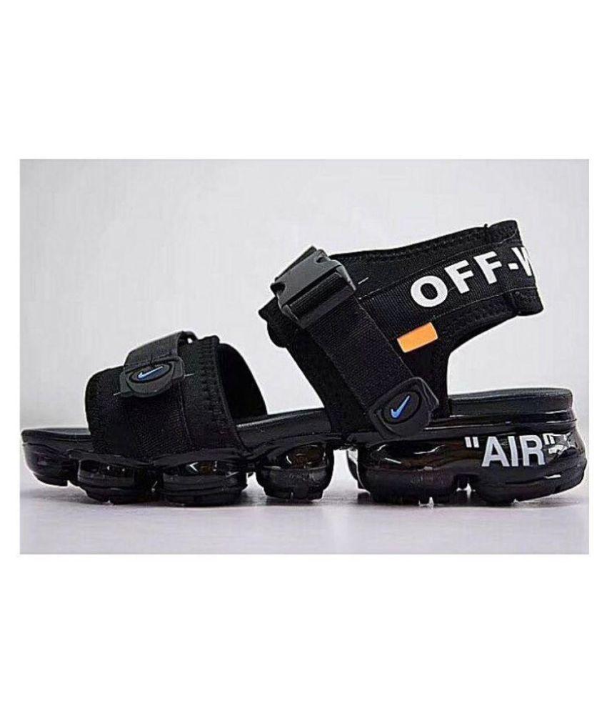 NIKE VAPORMAX 2018 Black Denim Sandals