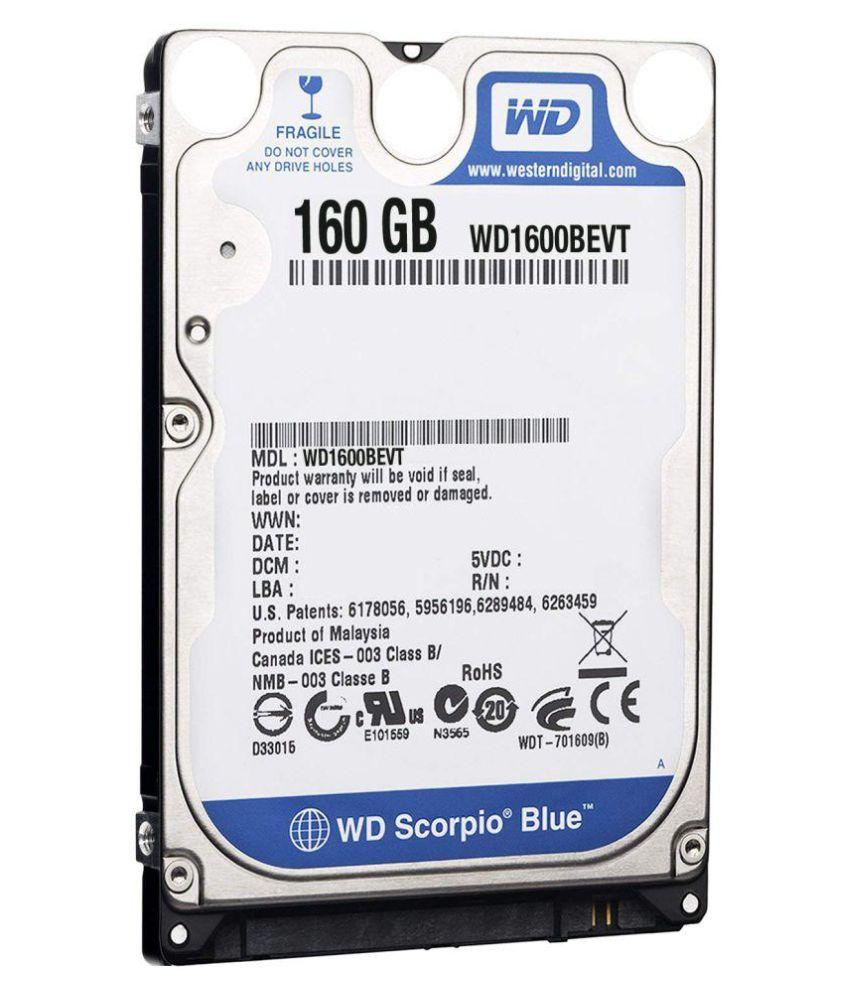 WD WD1600BEV VARIANTS 160 GB Internal Hard Drive Internal Hard drive