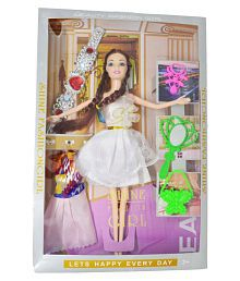 d3b3e23432a Quick View. cossetpack Fashion World Party Girl Set of Doll with Changing  Dress