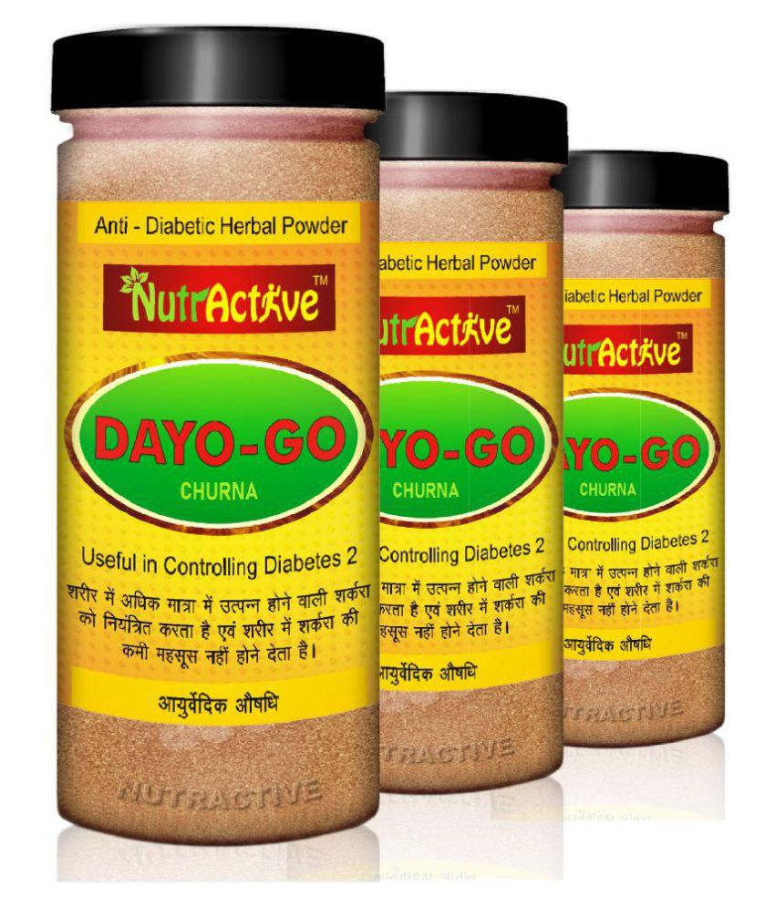 NutrActive Dayo-Go Churna for Diabetes and Detox Powder 450 gm