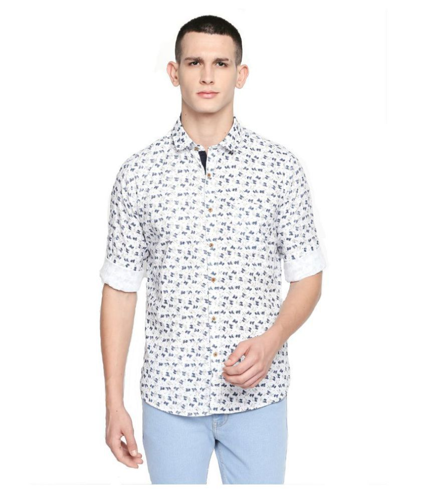 Solemio 100 Percent Cotton Shirt