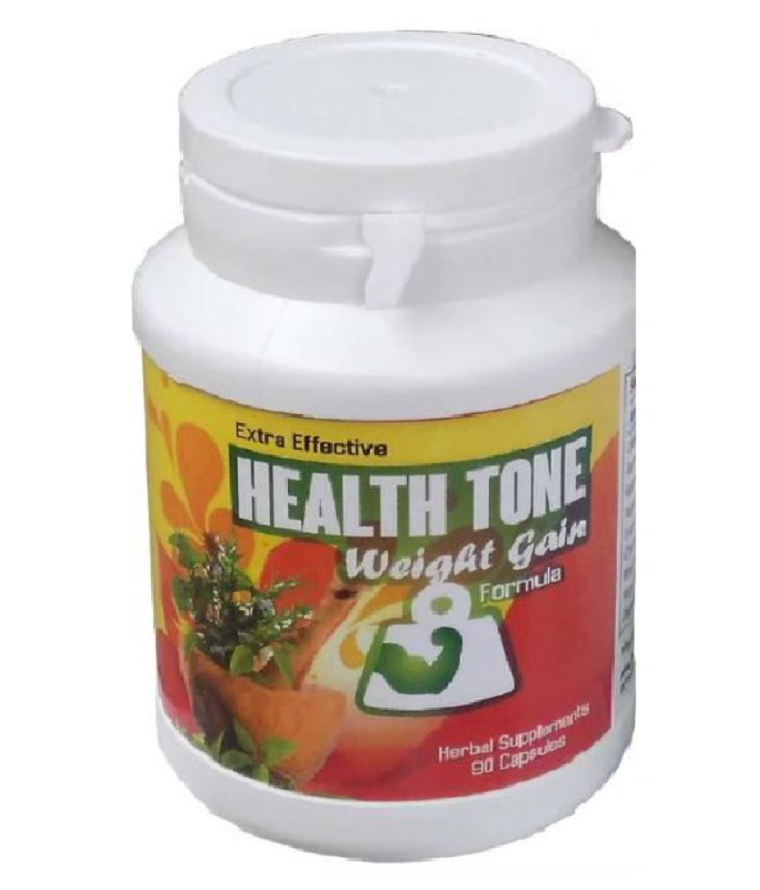 Health Tone Extra Effective Weight Gainer Capsules - 1 Bottle = 90 Capsules