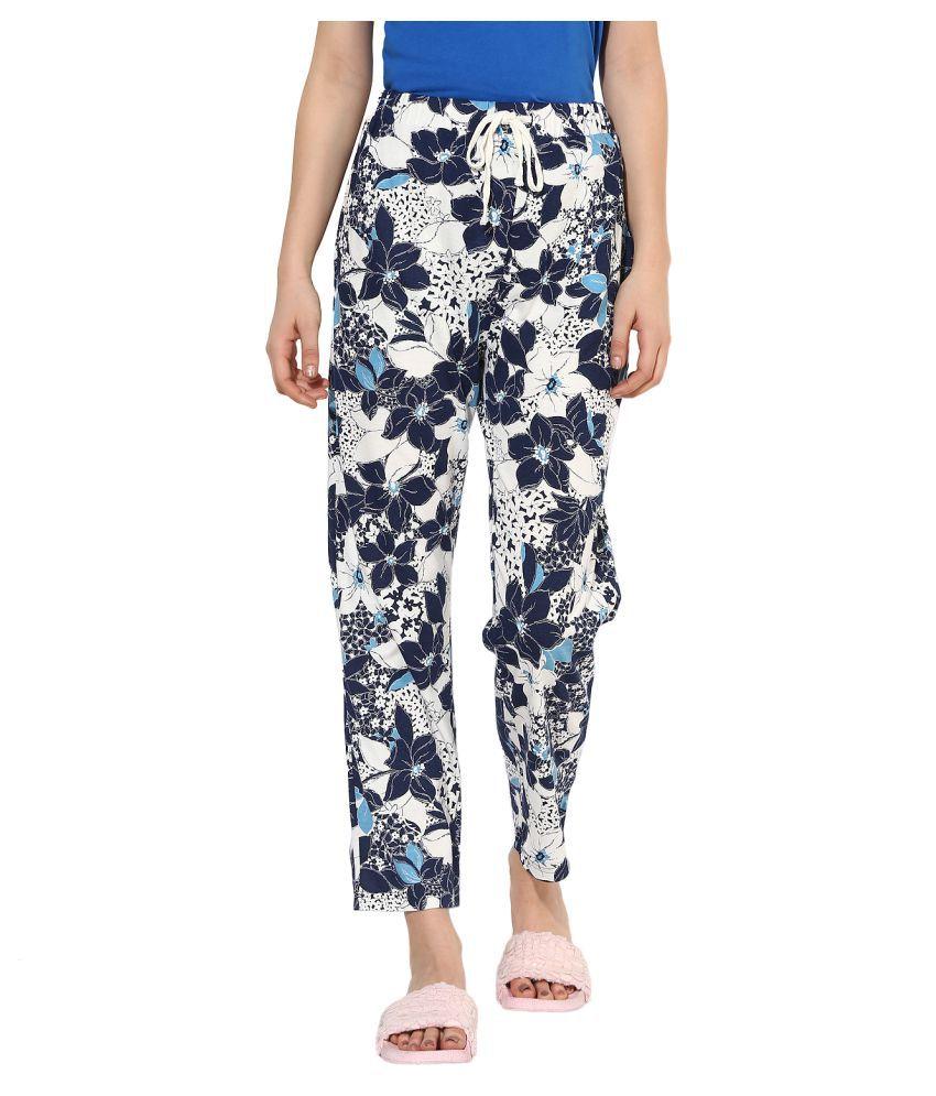 9teenAGAIN Hosiery Pajamas - Blue