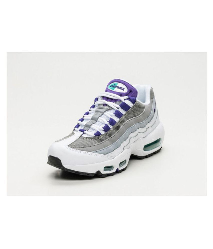 finest selection 5ffae 38139 Nike Air Max 95 Wmns Running Shoes White