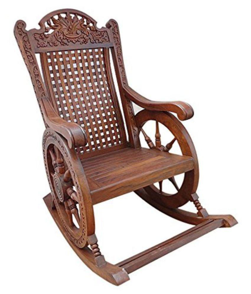 Enjoyable Shilpi Handicrafts Wooden Rocking Chair Ibusinesslaw Wood Chair Design Ideas Ibusinesslaworg