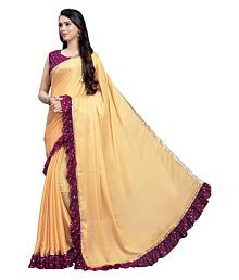 ad0ae17e91b Plain Saree  Buy Plain Saree Online in India at low prices - Snapdeal