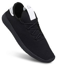 STOINS Boat Black Casual Shoes