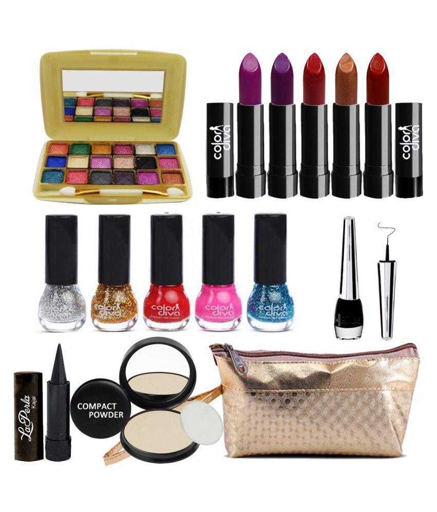 Adbeni Combo Makeup Sets C90A Pack Of 15 Makeup Kit no.s