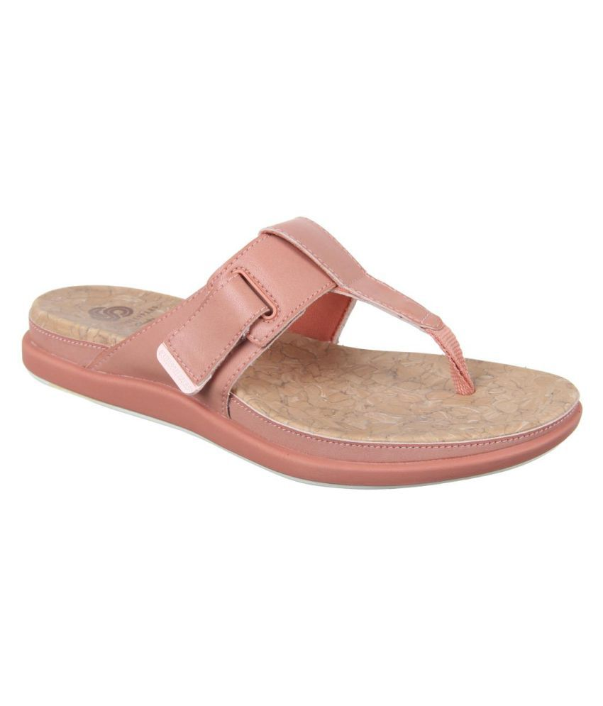 Clarks Pink Slippers