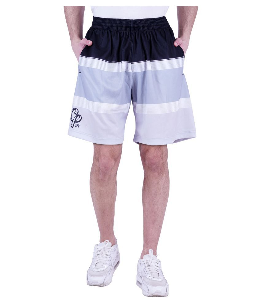ICABLE Grey Shorts