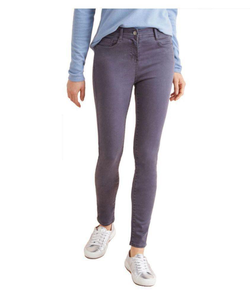 Timbre Cotton Lycra Jeans - Blue