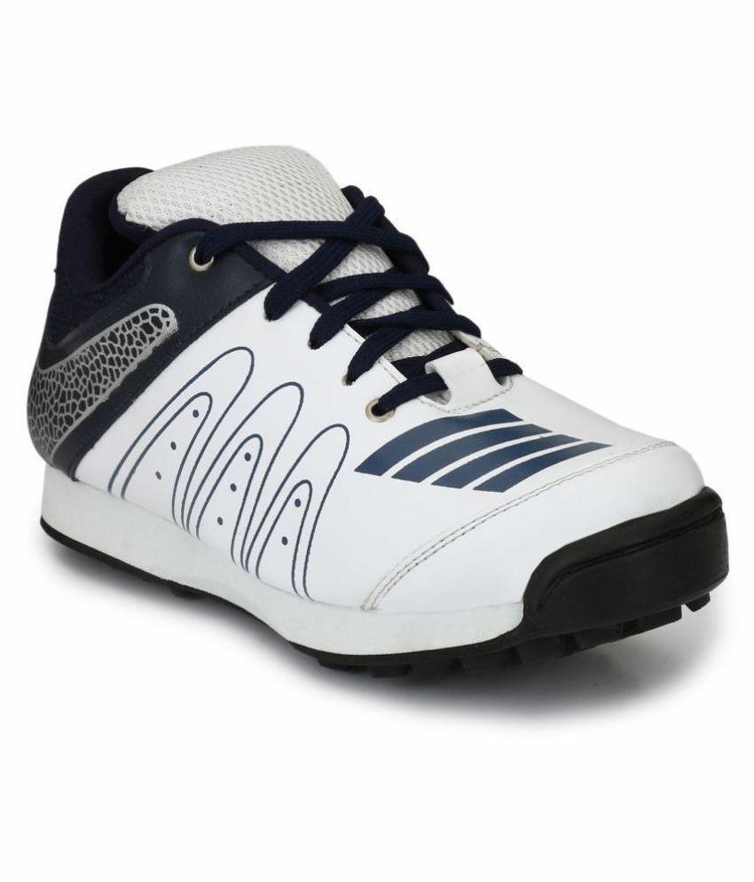 Sir Corbett White Cricket Shoes
