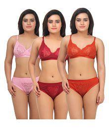 a6b14dad7f59 Bra & Panty Sets: Buy Bra & Panty Sets Online at Best Prices in ...