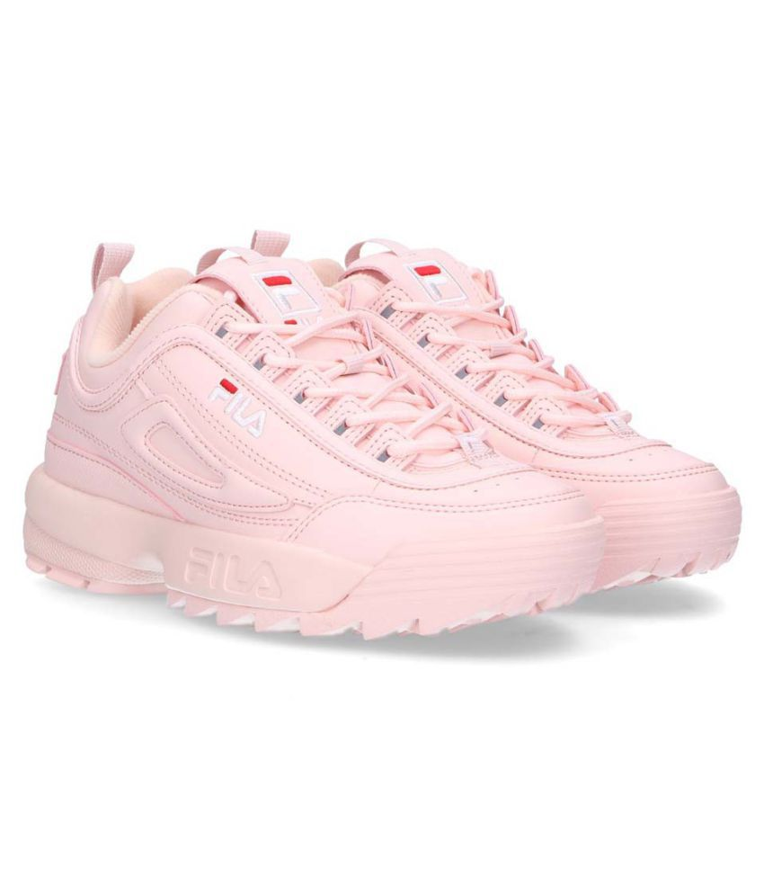 Fila Pink Lifestyle Shoes Price in India- Buy Fila Pink ...