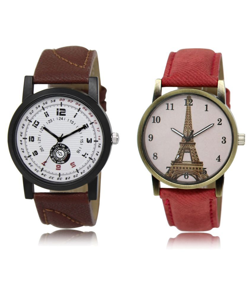 Lorem Analog ML-11-230 Combo Watch For Men & Women