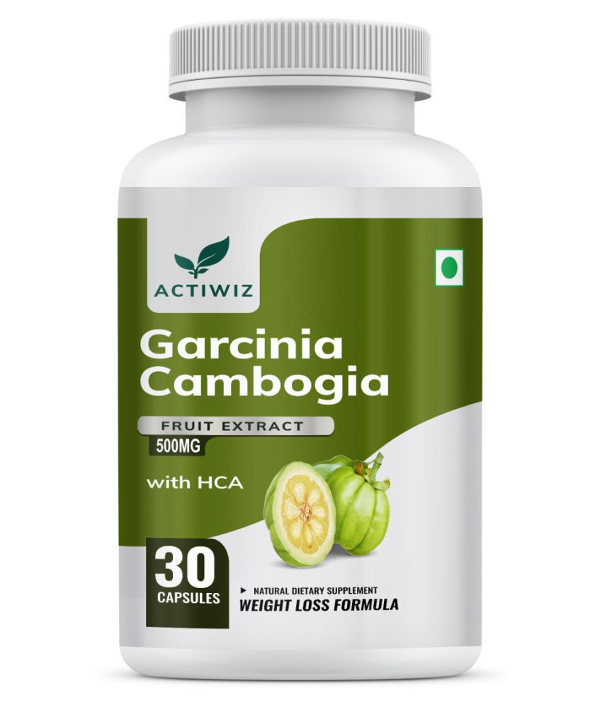 Actiwiz Garcinia Cambogia Extract - Fat Burner 500 mg Unflavoured Single Pack