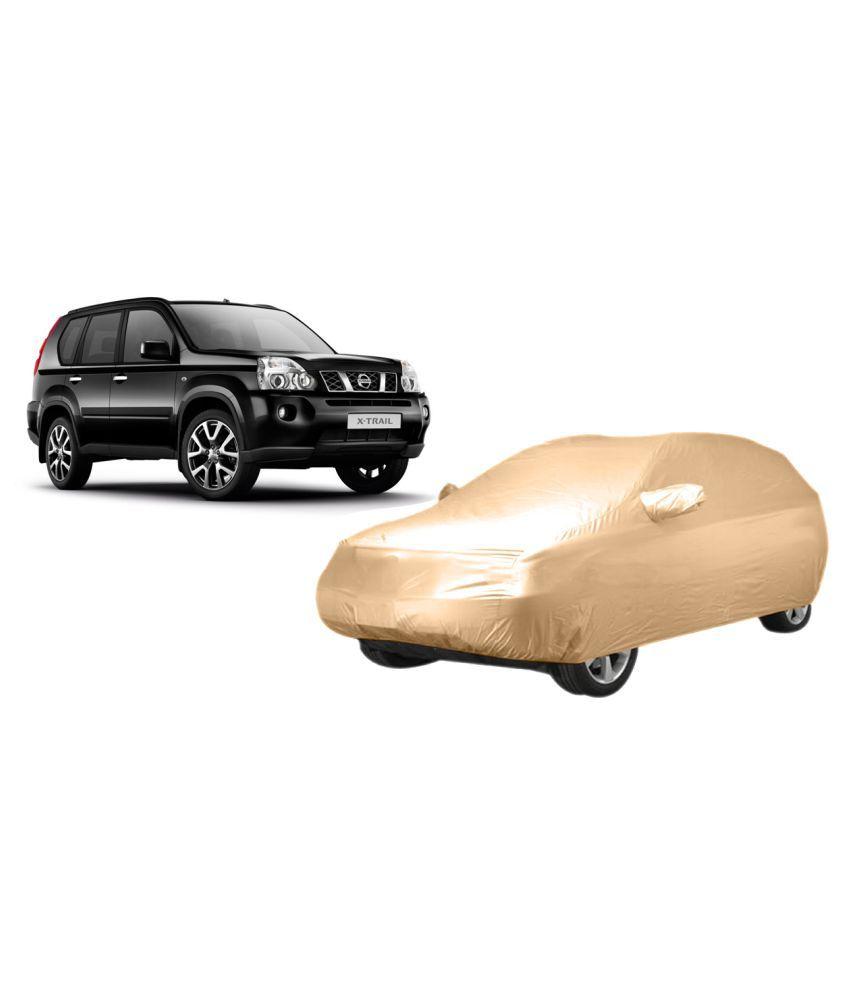 Alexus Car Cover for Maruti Suzuki Grand Vitara (Mirror Pockets) (Beige)
