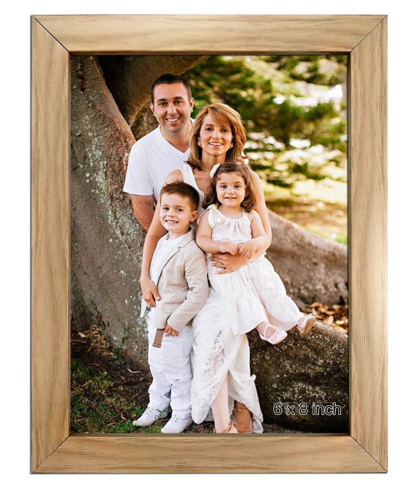 Trends on Wall Acrylic Beige Single Photo Frame - Pack of 1